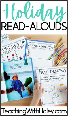 Holidays Around the World Interactive Read Alouds and Comprehension Activities by Teaching With Haley. Holidays around the world is the perfect time to promote diversity and acceptance! I wanted to choose some favorite read-aloud with diverse characters celebrating major holidays. From Kwanzaa, Ramadan, Christmas to Diwali, Chinese New Year read aloud, and more. Perfect diverse holiday activities for teaching Kindergarten, 1st, 2nd, and Homeschool students.