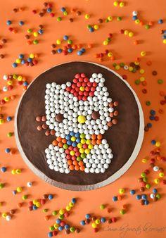 Pastel de naranja y chocolate con Minilacasitos