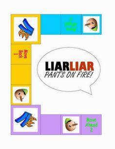 8th Commandment Game-  Liar, Liar Pants On Fire!