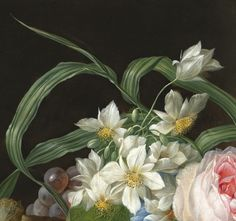 Franz Xaver Petter (1791 - Vienna - 1866). Two Flower Still Lifes, 1830.