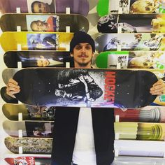 Hockey Donovan Piscopo deck recommended by @charsiufan retail price at HKD500 including griptape @8five2shop www.8five2.com @fuckingawesome @donovon.piscopo #8five2 #852 #hockeyskateboards #donovanpiscopo