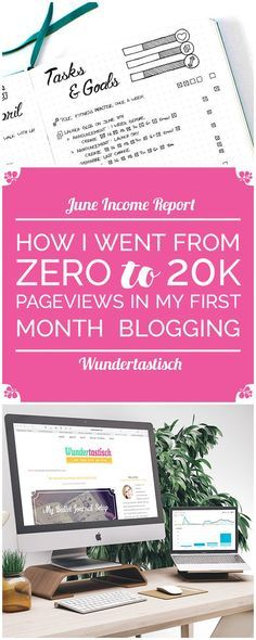 When I found the first Income Report around this time last year I became obsessed with them. They contain so much valuable information about how to grow your blog, write better content and overall become a better sense for your online business. I knew that when my blog launched I wanted to write them right from the start. That said I'm very excited to announce my very first Blog Traffic & Income Report, which not only explains how I went from Zero to 20K Pageviews in my first month Blogg