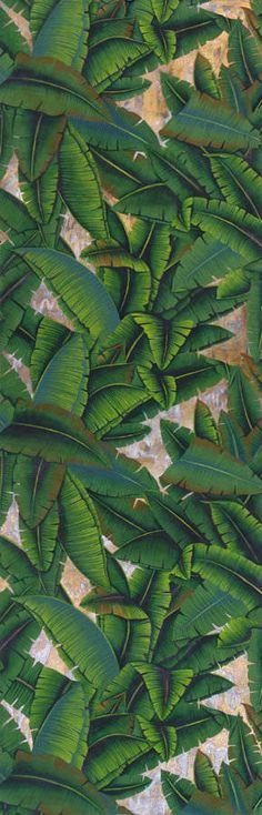 Papier peint intissé motifs nature PALMS
