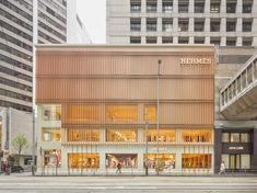 A first look at Hermès' spectacular three-storey boutique in Landmark Prince's in the heart of Central, Hong Kong Best Interior, Home Interior Design, Interior Decorating, Parisian Architecture, Architecture Design, Hermes Store, Supermarket Design, Store Interiors, Paris Design