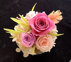 mother's day preserved flower arrangement *photo by afs