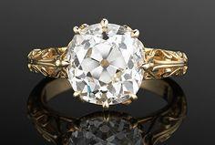 Yellow gold Fred Leighton rings