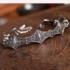 Boho Collar Choker Silver Necklace