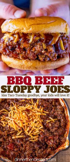 BBQ Beef Sloppy Joes made with a bbq ketchup mixture in less.- BBQ Beef Sloppy Joes made with a bbq ketchup mixture in less than 30 minutes will keep the summer bbq burger flavors going all year long. Bbq Burger, Grill Sandwich, Roast Beef Sandwich, Bbq Beef Sandwiches, Cheese Burger, Sandwiches For Dinner, Sloppy Joe Burger, Bbq Hamburgers, Summer Bbq