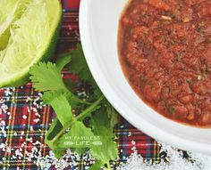 Homemade Salsa recipe. YUMMMMM! I want to make this with veggies from my garden.