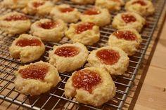 What's Up Cupcake?: Sweet Treats Saturday: Cream Cheese Thumbprint Cookies