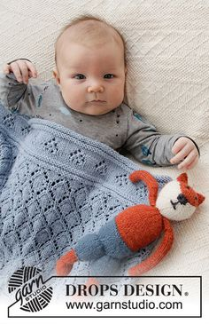 Baby Diamonds / DROPS Baby - Free knitting patterns by DROPS Design - Knitting patterns, knitting designs, knitting for beginners. Baby Knitting Patterns, Knitting Designs, Baby Patterns, Free Knitting, Scarf Patterns, Finger Knitting, Knitting Machine, Drops Design, Crochet Edgings