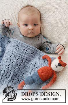 Baby Diamonds / DROPS Baby - Free knitting patterns by DROPS Design - Knitting patterns, knitting designs, knitting for beginners. Baby Knitting Patterns, Knitting Designs, Baby Patterns, Free Knitting, Knitting Projects, Crochet Patterns, Scarf Patterns, Finger Knitting, Knitting Machine