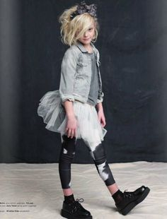 Katrina Tang Photography for Earnshaws magazine Wild Things 2013 kids fashion. Studio shoot with a girl in black boots and skirt 80s Fashion Kids, Fashion 101, Fashion Advice, Fashion Studio, Kids Market, One Clothing, Clothing Stores, Teenage Clothing, Look Girl