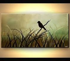 Image result for abstract painting 3 children in field