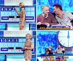 "When Lee Mack had a plan B (-A-G-E-L-S). | 34 Times ""8 Out Of 10 Cats Does Countdown"" Was Almost Too Funny"