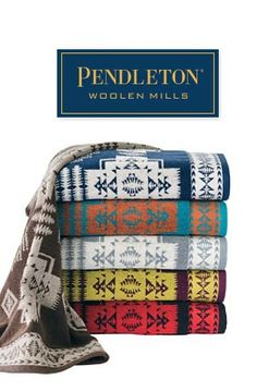 Pendleton Woolen Mills Chief Joseph Jacquard Towels