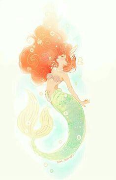 Disney the little mermaid ariel disney princess princess ariel disney fan art Ariel Disney, Disney And More, Disney Love, Disney Magic, Disney And Dreamworks, Disney Pixar, Disney Characters, Disney Films, Disney Princesses