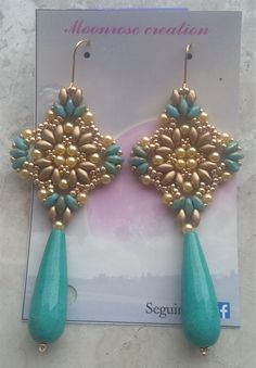 Orecchini Cleopatra (DIY - Cleopatra Earrings)