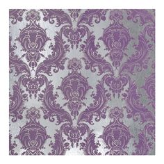 damask flocked foil wallpaper - peony : brocade home ❤ liked on Polyvore