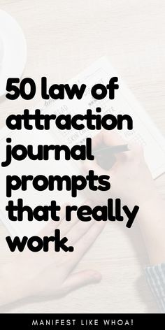65 Magical Journal Prompts For Manifestation (Free PDF)