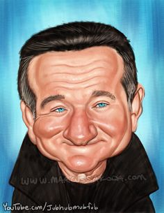 Robin Williams by Marcus Sakoda