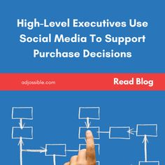 High-Level Executives Use Social Media To Support Purchase Decisions: Have you accepted the importance of social media when crafting your marketing strategy? Continue reading: #socialmedia #digitalworld #digitalmarketingstrategy Marketing Guru, Digital Marketing Strategy, Inbound Marketing, Social Media Marketing, Purchase Process, Online Social Networks, High Level, Lead Generation