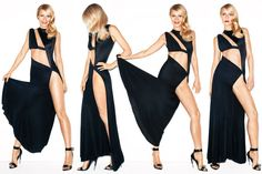Gwyneth Paltrow. Vanity Fair. Dress, $3,000, Anthony Vaccarello. Sandals, $1,350, Givenchy by Riccardo Tisci.