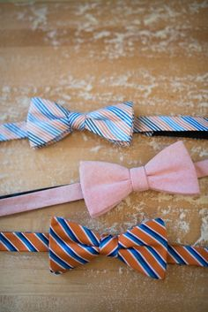 whimiscal bow ties for a wedding | COUTUREcolorado WEDDING: colorado wedding blog + resource guide