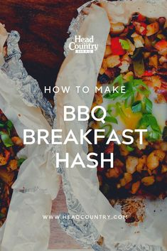 Try this BBQ Breakfast hash the next time you are looking for BBQ breakfast ideas or scramblers. It's a great bbq foil pack for breakfast or dinner. Breakfast Hash, Breakfast Ideas, How To Make Bbq, Healthy Snacks To Make, Best Bbq, Game Day Food, Camping Meals, Appetizers For Party, Meal Prep