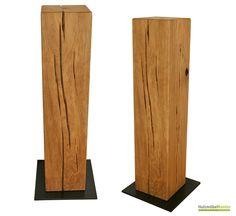 #Standsäulen aus Massivholz gibt es im http://www.holzmoebelkontor.de Online Shop auf Maß gefertigt!
