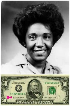 Azie Taylor Morton the first and only African American to serve as U.S. Treasury.