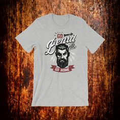 This shirt is a great slogan for beard lovers, so if you're a beard guy or you have a friend that is one, you should definetly look for this shirt. Beard Gifts, Beard Humor, Beard Lover, Bearded Men, Fabric Weights, Slogan, Trending Outfits, Funny, Mens Tops