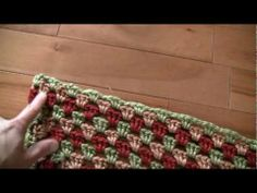 How to finish a crochet never ending granny square tutorial