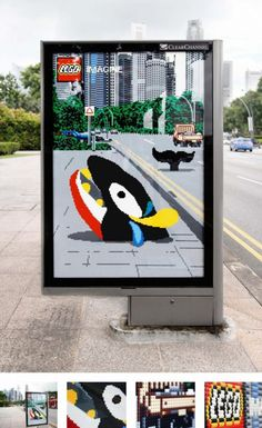 Lego: Bus stop shelters | Creative Criminals