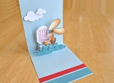 Triple Step Pop-Up Tutorial - Splitcoaststampers...by Christine Okken Create a 3-level pop-up feature for a real stand-out card.