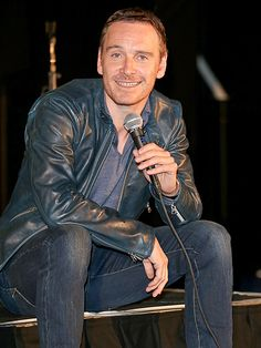 Star Tracks: Sunday, April 27, 2014 | IN THE HOT SEAT | Michael Fassbender flashes his handsome smile while chatting about his new movie Frank at the Sundance London Film and Music Festival inside The O2 Arena on Friday.