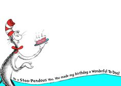 dr seuss birthday card template - ds paper and clip art on pinterest dr seuss hat