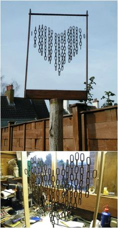 There is nothing that relaxes me more than listening to my wind chimes. I have several because I can never decide on my favorite sound. Each one offers such a beautiful melody and depending on what it's made of, it could be deep or angelic. There's just so much beauty in wind chimes that I...