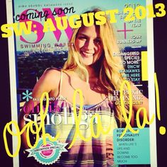 SW: August 2013: COMING SOON! Pictured: Olivia Smoliga