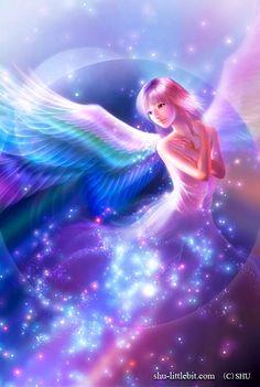 Angel (Drawing by Shuichi.Mizoguchi.9 @Facebook)