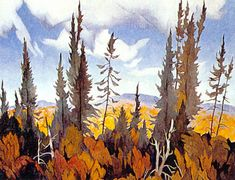 A. J. Casson South Portage Group Of Seven Art, Group Of Seven Paintings, Canadian Painters, Canadian Artists, Landscape Paintings, Acrylic Paintings, Landscape Art, Tom Thomson Paintings, Order Of Canada