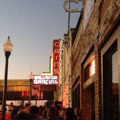 Cains Ballroom...fantastic venue!