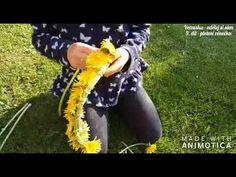 Verzuska - udělej si sám - 9.díl - pletení věnečku - YouTube