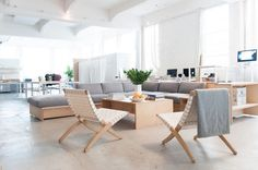 Everlane's corporate office in SF