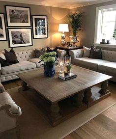 Nice 20+ Unique Rustic Living Room Decor Design Ideas. More at https://trendhmdcr.com/2018/05/29/20-unique-rustic-living-room-decor-design-ideas/