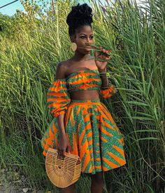 Never underestimate the power of a Black Woman 👑 african fashion African Fashion Ankara, African Inspired Fashion, African Print Fashion, Africa Fashion, African Prints, African Attire, African Wear, African Outfits, African Girl