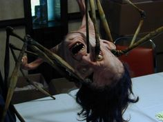 Norris creature from John Carpenter's The Thing. This really scared me as a child. I used to think the videotape it was recorded on was possessed by evil!