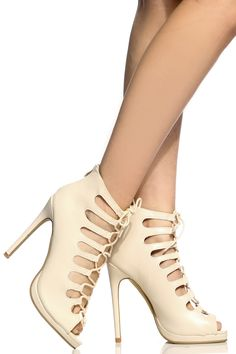 Buy Beige Faux Leather Lace Up Peep Toe Heels with cheap price and high quality from Cicihot Heel Shoes online store which also sales Stiletto Heel Shoes,High Heel Pumps,Womens High Heel Shoes,Prom Shoes Beige High Heels, Lace Up Heels, Peep Toe Heels, High Heel Pumps, Pumps Heels, Stiletto Heels, Spring Shoes, Summer Shoes, Prom Shoes
