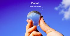 "An innovative (and edible) new ""water bubble"" called Ooho!, designed by the London-based Skipping Rocks Lab, could well be the answer to ending plastic water bottle consumption."
