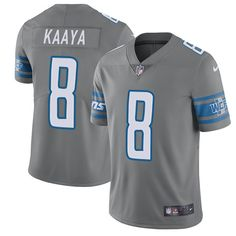 Nike Lions Calvin Johnson Gray Youth Stitched NFL Limited Rush Jersey And  Ray Lewis jersey cd4696608